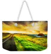 Landscape On Nature Weekender Tote Bag