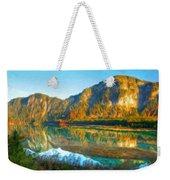 Nature Original Landscape Painting Weekender Tote Bag