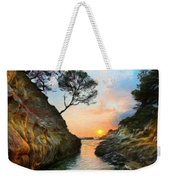 Nature Oil Painting Landscape Images Weekender Tote Bag