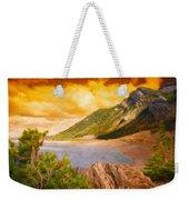Nature Scenery Oil Paintings On Canvas Weekender Tote Bag