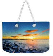 Oil Painting Landscape Pictures Weekender Tote Bag