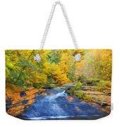Nature Painted Landscape Weekender Tote Bag
