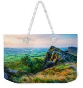 Nature Landscape Oil Weekender Tote Bag