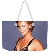 1491 Celebrity Charlize Theron  Weekender Tote Bag
