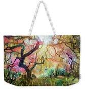 15 Abstract Japanese Maple Tree Weekender Tote Bag