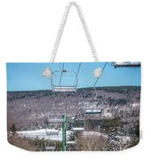 Beautiful Nature And Scenery Around Snowshoe Ski Resort In Cass  Weekender Tote Bag