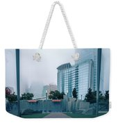 Charlotte North Carolina City Skyline And Downtown Weekender Tote Bag