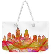 Cincinnati Ohio Skyline  Weekender Tote Bag