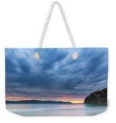 Cloudy Sunrise Seascape Weekender Tote Bag