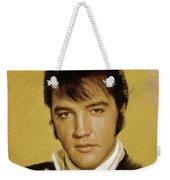 Elvis Presley, Rock And Roll Legend Weekender Tote Bag