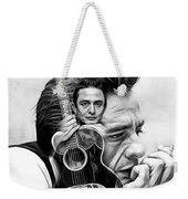 Johnny Cash Collection Weekender Tote Bag