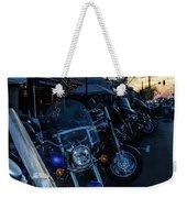 Motorcycles On Main Weekender Tote Bag