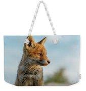 Red Fox Cub Weekender Tote Bag