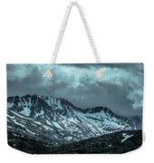 Rocky Mountains Nature Scenes On Alaska British Columbia Border Weekender Tote Bag