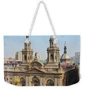 Santiago De Chile Weekender Tote Bag