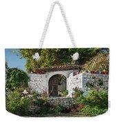 Street In Berat Old Town In Albania Weekender Tote Bag