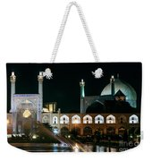 The Shah Mosque Famous Landmark In Isfahan City Iran Weekender Tote Bag