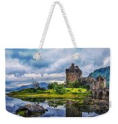 Landscape Nature Drawing Weekender Tote Bag