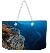 Landscape Oil Painting Nature Weekender Tote Bag