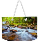 Nature Painted Landscape Weekender Tote Bag