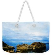 Nature Scenery Oil Paintings On Canvas Weekender Tote Bag