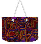 1554 Abstract Thought Weekender Tote Bag