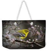 1574 - Pine Warbler Weekender Tote Bag