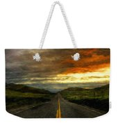 Nature Oil Paintings Landscapes Weekender Tote Bag