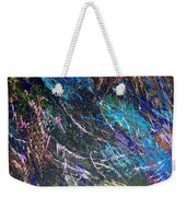 16-4 Space Explosion Canvas Weekender Tote Bag