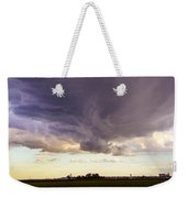 Afternoon Nebraska Thunderstorm Weekender Tote Bag