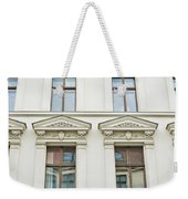 Apartment Building Weekender Tote Bag
