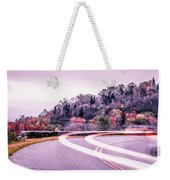 Autumn Season On Blue Ridge Parkway Weekender Tote Bag