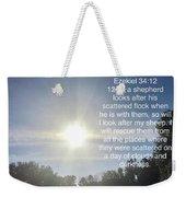 Bible Verse  Weekender Tote Bag