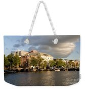 Canals Of Amsterdam Weekender Tote Bag