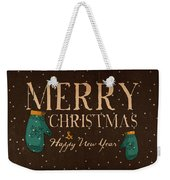 Christmas Greetings Weekender Tote Bag