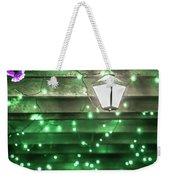 Christmas Light Bokeh At Daniel Stowe Gardens Belmont North Caro Weekender Tote Bag