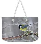 Great Tit Weekender Tote Bag