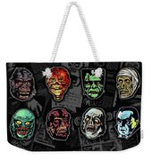 16 Horror Movie Monsters Vintage Style Classic Horror Movies  Weekender Tote Bag