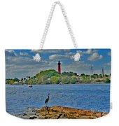 16- Jupiter Lighthouse Weekender Tote Bag