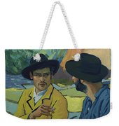I Saw Her - Pretty - In A Porcelain Sort Of Way Weekender Tote Bag