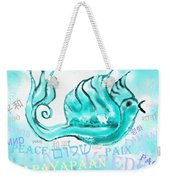 Peace All Over The World Weekender Tote Bag