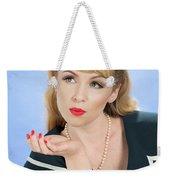 Pin Up Girl Weekender Tote Bag