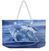 Ice On Beach Weekender Tote Bag