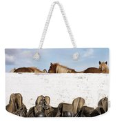 162669 Horse Walls Animals National Geographic Weekender Tote Bag