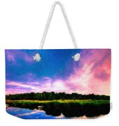 Oil Paintings Art Landscape Nature Weekender Tote Bag