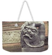 Bali Sculpture Weekender Tote Bag