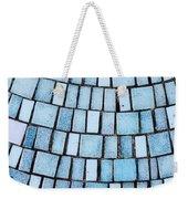 Blue Tiles Weekender Tote Bag