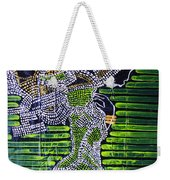 Dinka Lady - South Sudan Weekender Tote Bag by Gloria Ssali