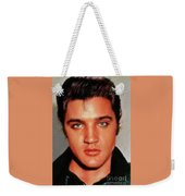 Elvis Presley, Rock And Roll Legend Weekender Tote Bag