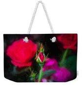 Knockout Roses Painted  Weekender Tote Bag